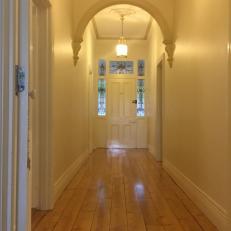 Wide hallway