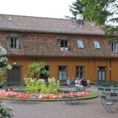 Café in Botanical garden