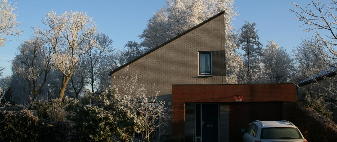 House in wintertime